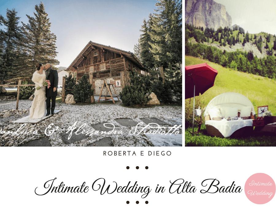 Matrimonio bianco e fucsia ai piedi delle Dolomiti
