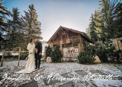 Matrimonio Bianco e Fucsia -baita cerimonia simbolica Antonella Amato Wedding Planner