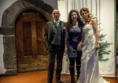 Matrimonio Bianco e Fucsia - con gli sposi Antonella Amato Wedding Planner