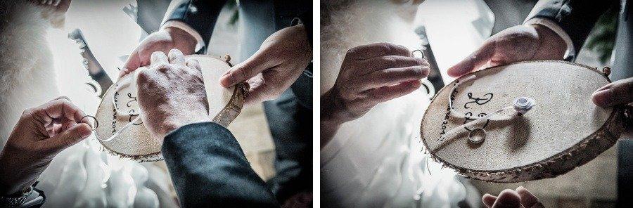 Matrimonio Bianco e Fucsia -fedi 2