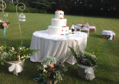 Matrimonio Country Chic - Wedding_Cake Antonella Amato Wedding Planner