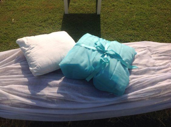 Matrimonio Country Chic - cuscini seduta - Antonella Amato Wedding Planner