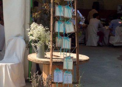 Matrimonio Country Chic - tableau de mariage - Antonella Amato Wedding Planner