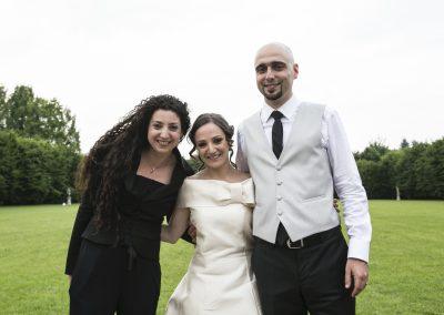 Matrimonio in Marsala e Verde - Gli sposi Antonella Amato Wedding Planner