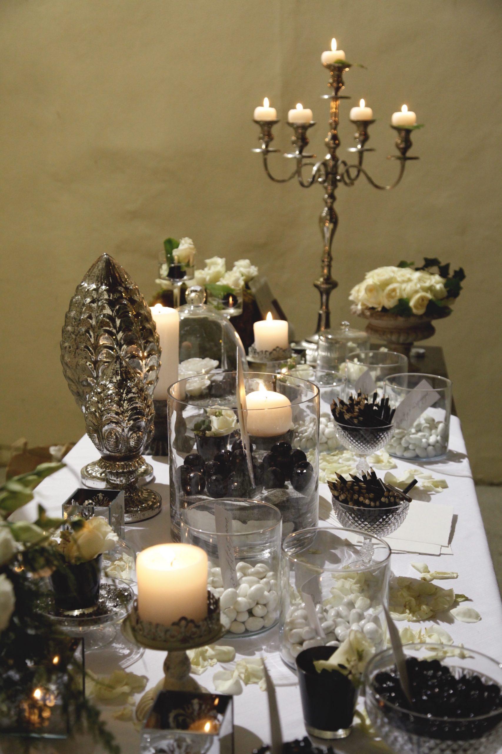 matrimonio bianco e nero - Antonella Amato Wedding Planner 2