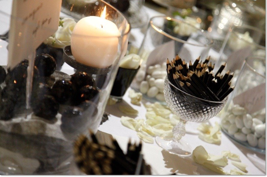 matrimonio bianco e nero - Antonella Amato Wedding Planner 8