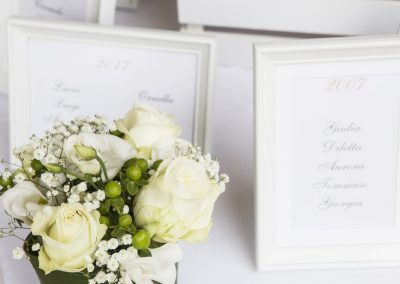 matrimonio bianco e oro - Antonella Amato Wedding Planner