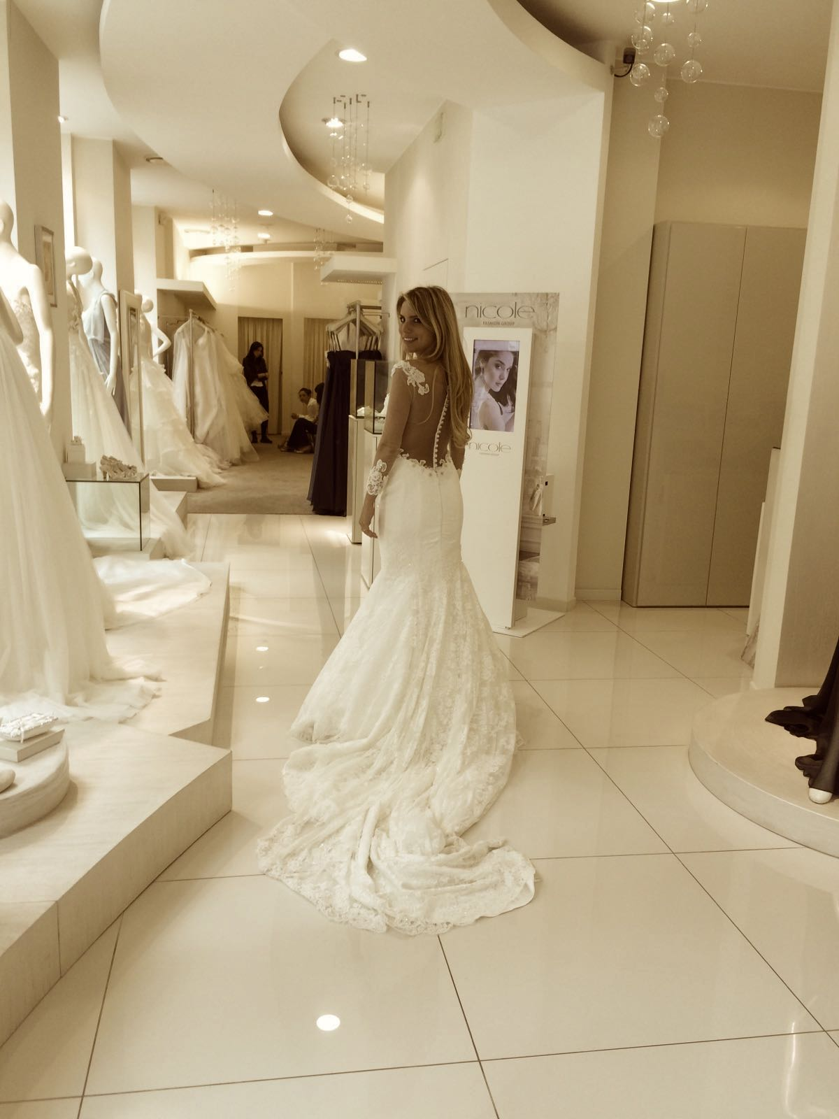 matrimonio total white-la sposa Antonella Amato Wedding Planner