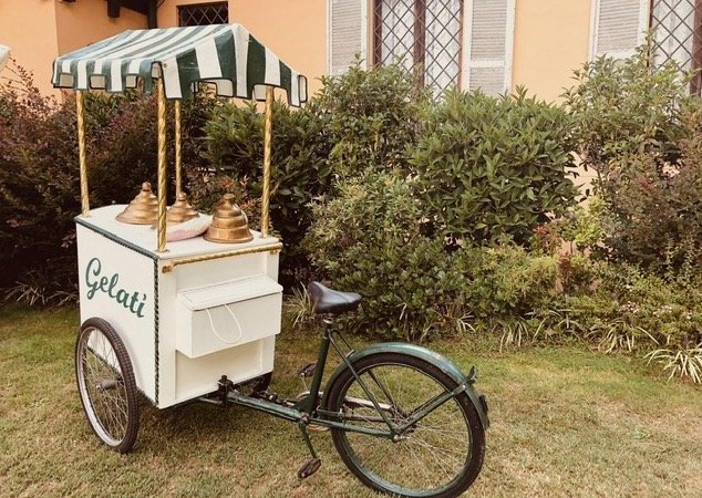 Matrimonio autunnale_carretto gelati_