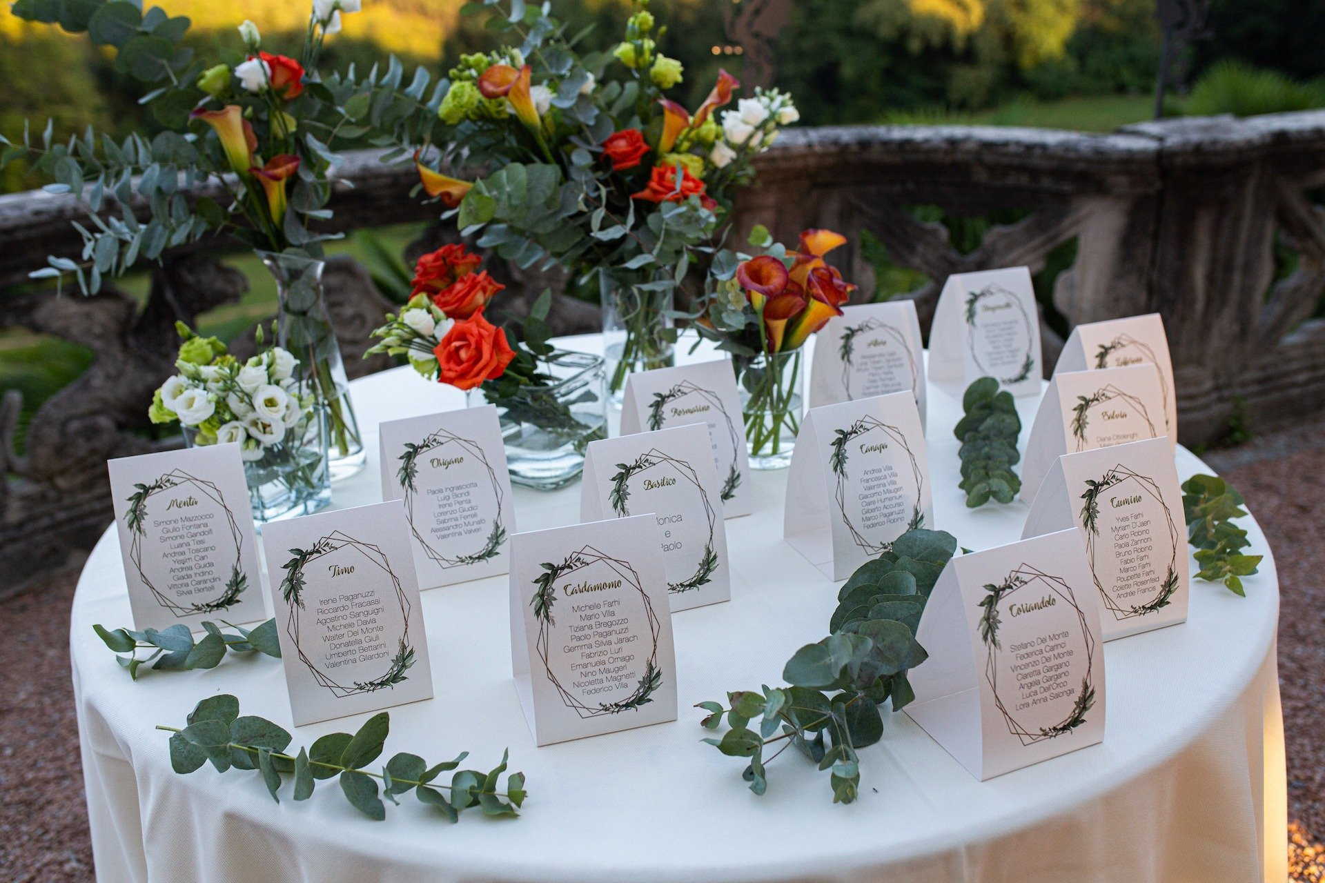Matrimonio verde e arancione - Antonella Amato Wedding Planner_4