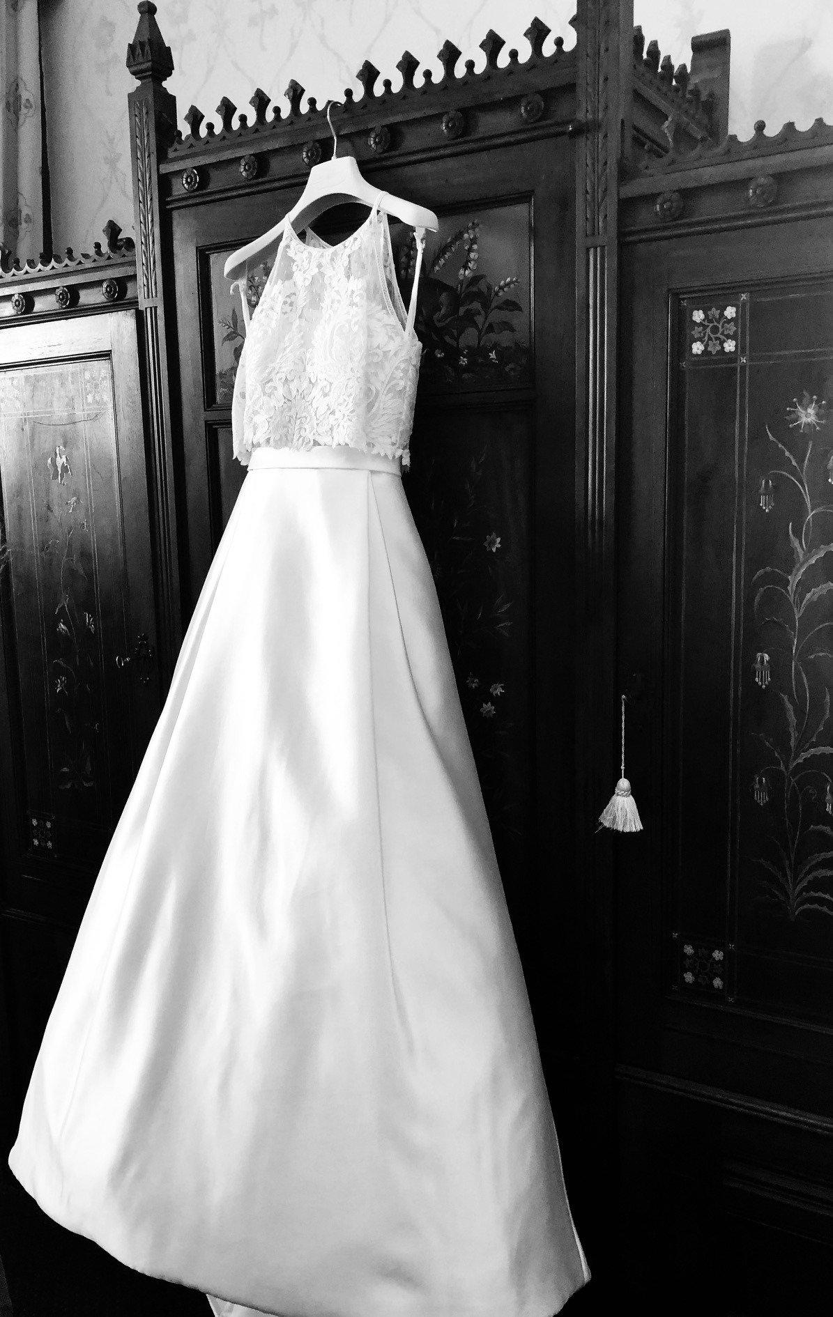 Matrimonio di Monica e Paolo - abito da sposa