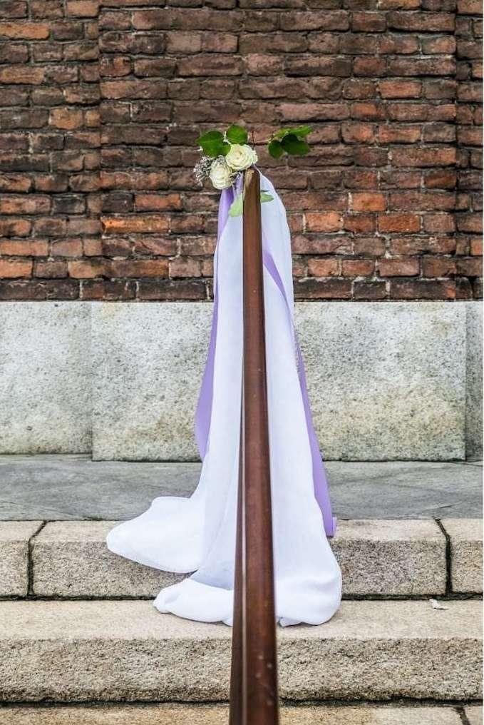 Matrimonio bianco e Glicine Antonella Amato Wedding Planner_2