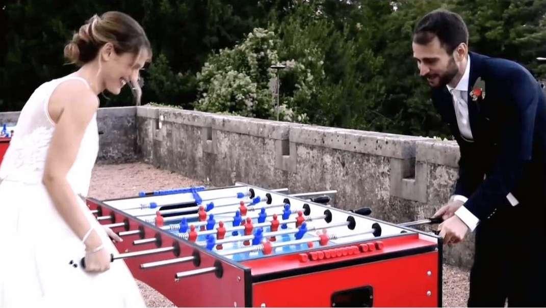 Wedding-Experience-sposi-al calcio balilla_Antonella Amato Wedding Planner